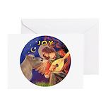 Angel3-Shetland Pony Greeting Cards (Pk of 20)