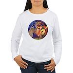 Angel3-Shetland Pony Women's Long Sleeve T-Shirt