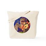 Angel3-Shetland Pony Tote Bag