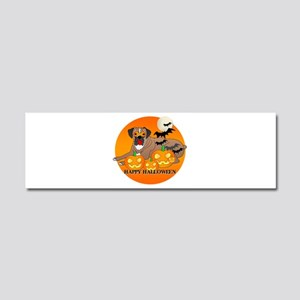 Boxer Car Magnet 10 x 3