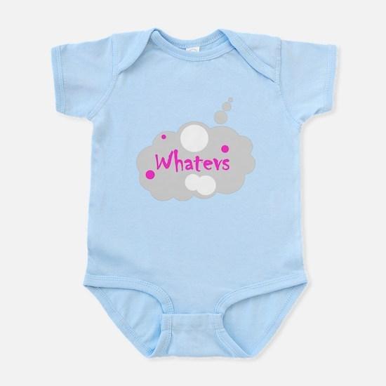 Whatevs Infant Bodysuit