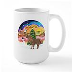 XmasMusic2-Shetland Pony Large Mug