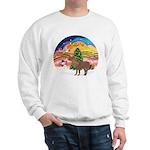 XmasMusic2-Shetland Pony Sweatshirt