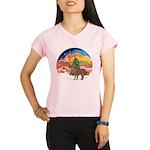 XmasMusic2-Shetland Pony Performance Dry T-Shirt