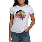 XmasMusic2-Shetland Pony Women's T-Shirt