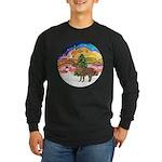 XmasMusic2-Shetland Pony Long Sleeve Dark T-Shirt