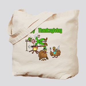 Funny Thanksgiving Tote Bag