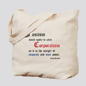 Fascism defined Tote Bag