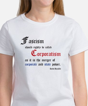 Fascism defined Women's T-Shirt