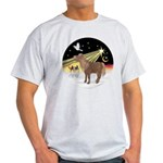 XmasDove-Shetland Pony Light T-Shirt