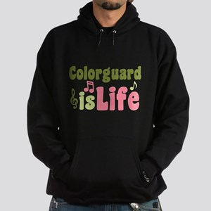 Colorguard is Life Hoodie (dark)