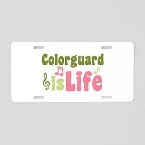 Colorguard is Life Aluminum License Plate
