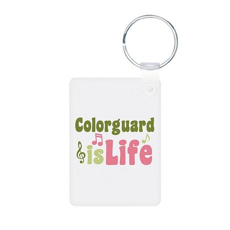 Colorguard is Life Aluminum Photo Keychain