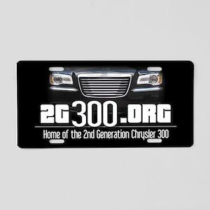 2G300.org   2G Chrysler 300 Aluminum License Plate