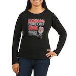 Baka na Noda Women's Long Sleeve Dark T-Shirt