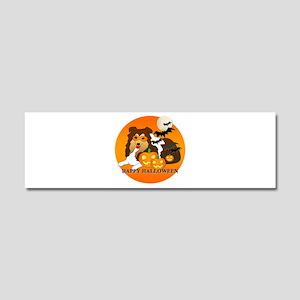Shetland Sheepdog Car Magnet 10 x 3