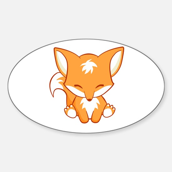 The Happy Fox Decal