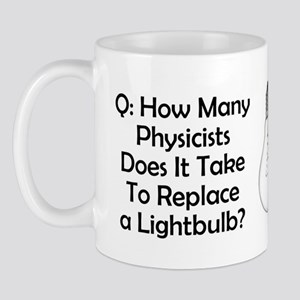 Physicists Riddle Mug