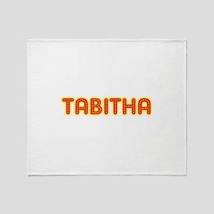Tabitha in Movie Lights Throw Blanket