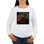 Mountain Sunset Women's Long Sleeve T-Shirt