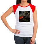 Mountain Sunset Women's Cap Sleeve T-Shirt