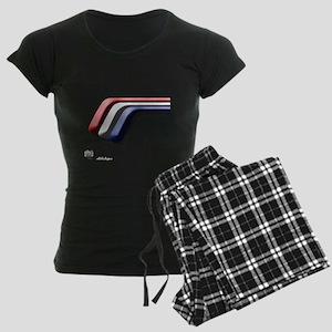 Mustang Deluxe 2 Sides Women's Dark Pajamas