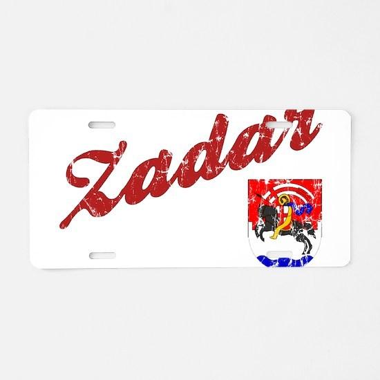 Cute Croatian Aluminum License Plate