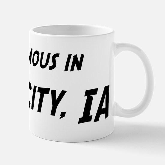 Famous in Iowa City Mug
