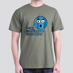 I Can See Uranus Dark T-Shirt