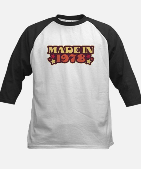 Made in 1978 Kids Baseball Jersey