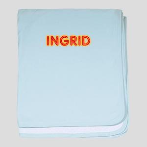 Ingrid in Movie Lights baby blanket