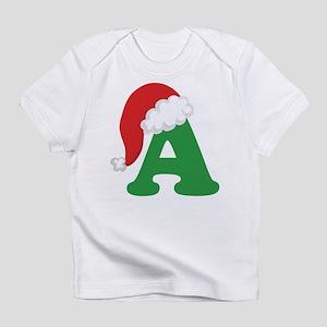 Christmas Letter A Alphabet Infant T-Shirt