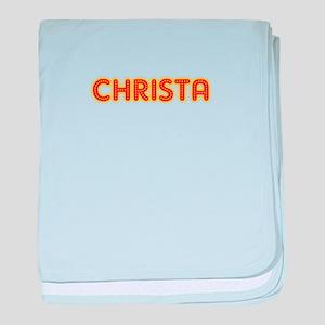 Christa in Movie Lights baby blanket