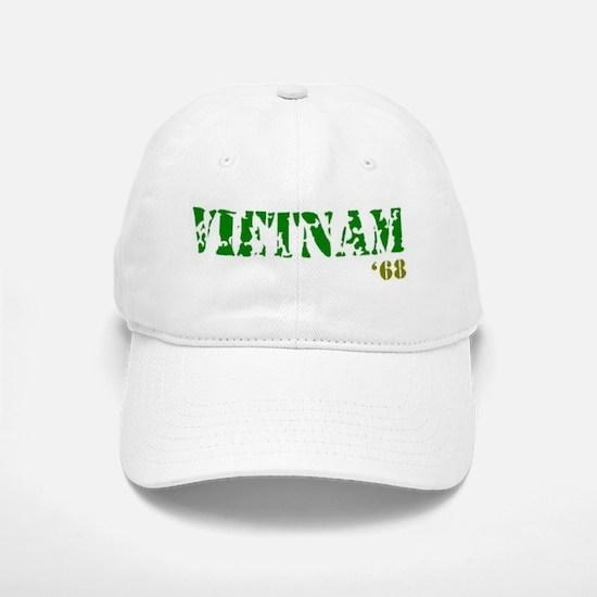 Vietnam '68 Baseball Baseball Cap