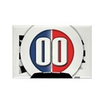 Cars Round Logo Rectangle Magnet (100 pack)