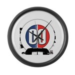 Cars Round Logo Large Wall Clock