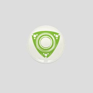 Green Rotor Mini Button