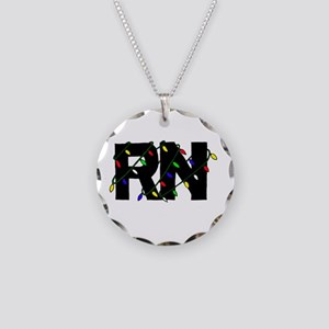 Nurse Christmas Gifts Necklace Circle Charm