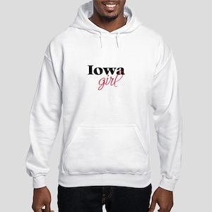 Iowa girl (2) Hooded Sweatshirt