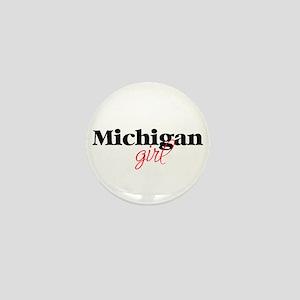 Michigan girl (2) Mini Button