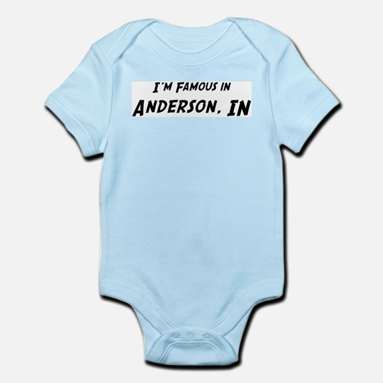 Famous in Anderson Infant Creeper