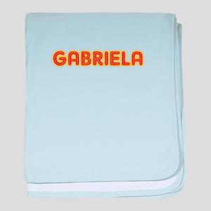 Gabriela in Movie Lights baby blanket
