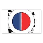 Cars Round Logo Blank Sticker (Rectangle 10 pk)