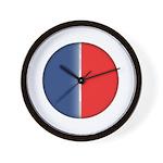 Cars Round Logo Blank Wall Clock