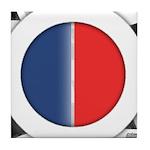 Cars Round Logo Blank Tile Coaster