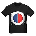 Cars Round Logo Blank Kids Dark T-Shirt