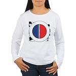 Cars Round Logo Blank Women's Long Sleeve T-Shirt