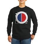 Cars Round Logo Blank Long Sleeve Dark T-Shirt