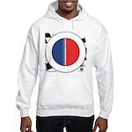 Cars Round Logo Blank Hooded Sweatshirt