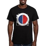 Cars Round Logo Blank Men's Fitted T-Shirt (dark)
